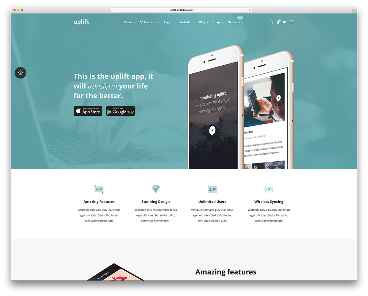 Different Layout Styles Give A Different Design Effect MH Creative - Web development company website template